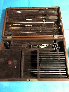 Antique Medical Surgical Set See Photos For Makers K38