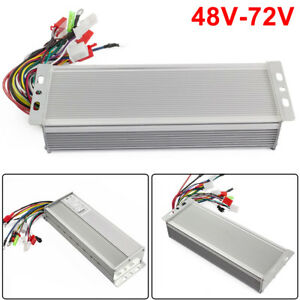 Wide Voltage Electric Bicycle E bike Scooter Brushless Dc Motor Controller 1500w