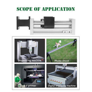 High Precision Manual Sliding Table Ball Screw Linear Stage Slide Stroke 100mm