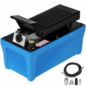 Air Powered Hydraulic Pump 10 000 Psi Rubber Single Acting Foot Operated Pump