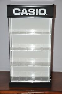 Casio Watch Counter Top Acrylic Spinner Jewelry Display Case