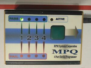 Rpm Mpq c2 Four Port In system Programmer For Silicon Labs C8051f si10xx