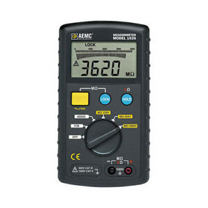 Aemc 1026 Digital Multi function Megohmmeter 1000v Max Test Voltage