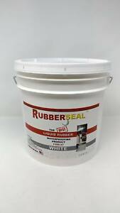 Rubberseal Liquid Rubber Waterproofing Roll On White 2 Gallon