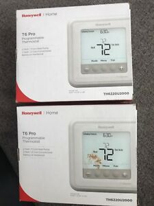 Honeywell Home T6 Pro Programmable Thermostat 2 In Auction