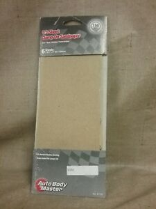 New Genuine Auto Body Master 1 3 Sheet Clamp On 3 2 3 X 9 Sandpaper 11150