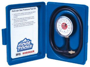Robinair 42160 Gas Manifold Pressure Test Kit 0 35 Water Column 1 pack