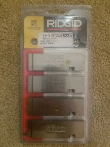 Ridgid 48225 Universal High Speed Bolt Threading Die Set 3 8 16 Unc Rh New