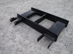 Used Heavy Duty Fork Lift Attachment Lift And Tow Hook Base Ship 199
