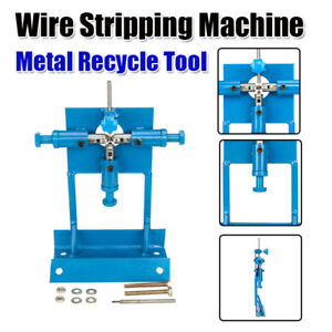 Manual Copper Wire Stripping Machine Cable Stripper Scrap Metal Recycle Tool