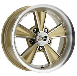 Vision Wheel Hurst Dazzler Gloss Gold Machined Wheel Ht324 7861gmf0