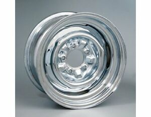 Wheel Vintiques 64 Series Ford Chevy Style O E Chrome Wheel 15 X7 5x4 5 Bc