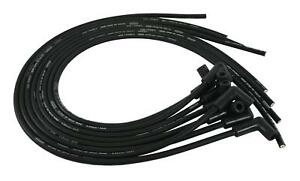 Moroso Spark Plug Wires Ultra 40 Spiral Core 8 65mm Black 90 Degree Chevy 73818