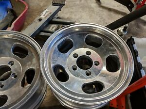 Ansen Automotive Sprint 15x7 Aluminum Wheels Gm 5x4 75 3 75 Bs Excellent