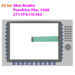New For Allen Bradley Panelview Plus 1500 2711p k15c4a2 Membrane Keypad Key Mask