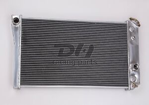 3row Aluminum Radiator Fit84 90 Corvette Small Block V8 S10 V8 Conversion Dpi829