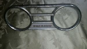 Vintage Packard 1948 49 Dash Plate For Guages Or Clock Geo W Borg Rat Rod