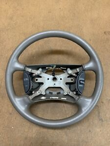 1998 2001 Dodge Ram 1500 2500 3500 Steering Wheel W Cruise Control Oem