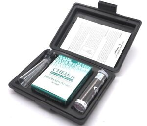 New Chemetrics K 7599 Dissolved Oxygen Test Kit K7599