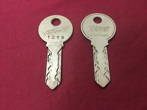 Vidmar A82 A84 Keys Set Of 2 Locksmith