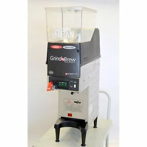 Grindmaster Gnb 20h Grind N Brew Dual Coffee Bean Grinder Brewer 120v All In One