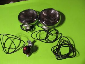 Unity Fog Lamps Lights Vintage Cadillac Buick Chevy 30s 40s 50s 20s Nos Gm