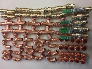 Lot Of 75 3 4 Propress Fittings