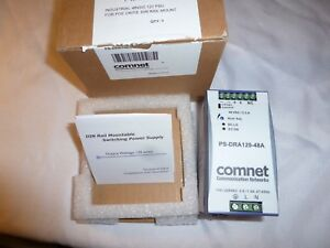 Comnet Ps dra120 48a 48vdc 120watt Din Rail Mounting Power Supply new