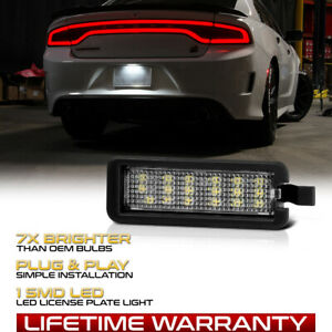 2015 2018 Dodge Charger Challenger Chrysler 300 Full Led License Plate Light