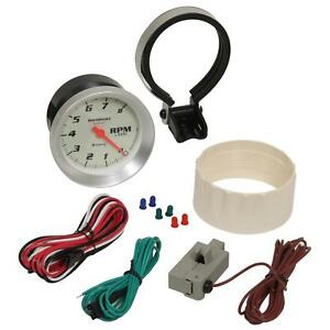 Equus Tachometer 0 8000 Rpm 3 3 8 Analog Electrical Ea 8068
