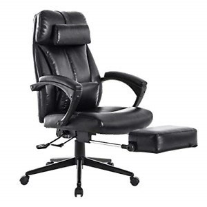 Lch High Back Reclining Executive Office Chair Pu Leather Ergonomic Computer