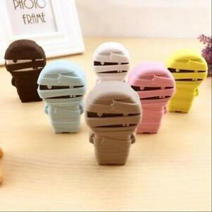 12pcs lot Creative Mummy Design Correcting Tapes Stationery Office Accssories