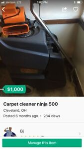 Ninja 500psi Carpet Cleaner