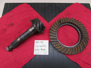 1957 1958 1959 60 61 62 Corvette Posi Ring And Pinion Set 3737957 3 70 Ratio