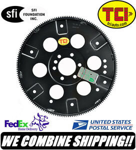 Tci Bbc 454 Chevy V8 153 Tooth External Balance Sfi Forged Flexplate 399554