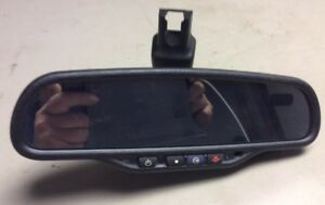 Gntx 261 Cadillac Chevrolet Rear View Auto Dim Mirror Temp Compass