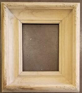 10 X 13 Hand Carve Picture Frame Raw Unfinished