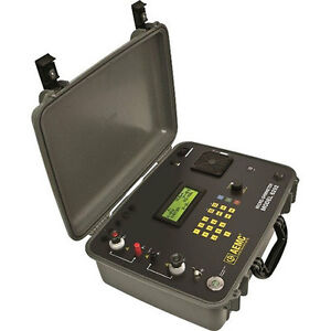 Aemc 6292 Micro ohmmeter 200a Dataview Software With Cooling System