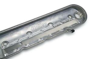 Holley Aluminum Ls Valve Covers 241 90 Chevy Ls V8 Polished