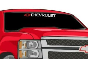 Chevrolet Truck Window Decal Silverado Chevy 1500 2500 Bed Tailgate
