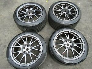 Genuine Set Of Ferrari F430 F360 Fabulous 18 Oem Wheels Rims Forgeo