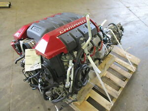 Chevy Camaro Ss Ls3 6 2l Engine 6 Speed Mt Manual Transmission Dropout 62k