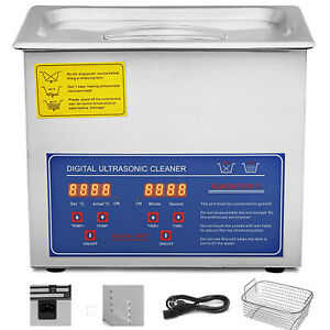 3l Industry Ultrasonic Cleaners Cleaning Equipment Heater W timer Updated