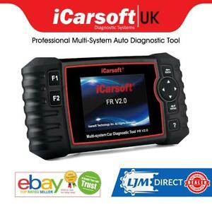 Latest Icarsoft Fr V2 0 Citroen Peugeot Renault Srs Abs Brake Diagnostics Tool