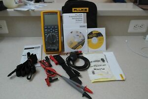 Fluke 289 fvf True Rms Industrial Multimeter Flukeview Forms Combo Kit Logging