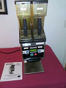 Bunn Brew Wise Dual Hopper Commercial Coffee Grinder Works Good