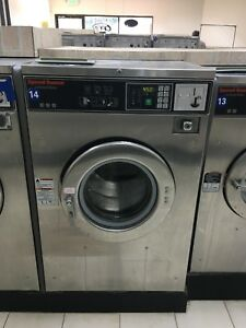 Speed Queen Sc30bc2 Washer extractor 30lb Coin 220v With Imonex Coin Acceptor