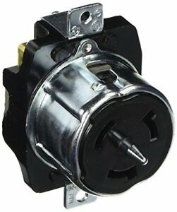 Hubbell Cs8169 Locking Receptacle 50 Amp 480v 3 Pole And 4 Wire