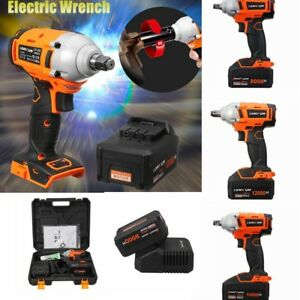 68tv 98tv 128tv Cordless Electric Impact Wrench Driver Brushless Li On Charger