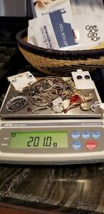 Sterling Silver Mixed Scrap New Lot 925 200 Grams 7